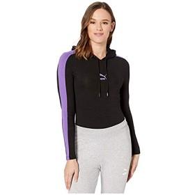 [PUMA(プーマ)] レディースウェア・T-シャツ・トレーナー等 Classics Hooded Bodysuit Black XL [並行輸入品]