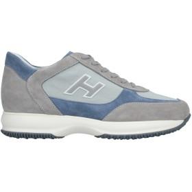 《セール開催中》HOGAN メンズ スニーカー&テニスシューズ(ローカット) グレー 5.5 紡績繊維 / 革