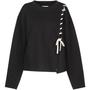 《セール開催中》MAURO GRIFONI レディース スウェットシャツ ブラック M コットン 100%