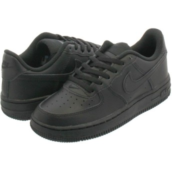 [ナイキ] AIR FORCE 1 PS BLACK/BLACK/BLACK_在庫_18.5cm [並行輸入品]