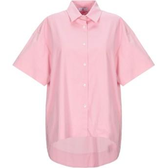 《セール開催中》SFIZIO レディース シャツ ピンク 42 コットン 96% / ポリウレタン 4%