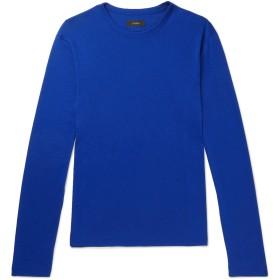 《セール開催中》JOSEPH メンズ T シャツ ブルー M テンセル 67% / コットン 33%