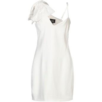 《セール開催中》CAVALLI CLASS レディース ミニワンピース&ドレス ホワイト 40 ポリエステル 100% / レーヨン / ポリウレタン