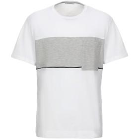 《セール開催中》PAOLO PECORA メンズ T シャツ ホワイト S コットン 100%