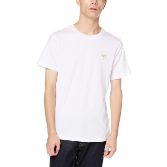 [ゲス] Tシャツ MEN'S S/SLV TEE SHIRT メンズ ホワイト(MJ2K9412K) 日本 M (日本サイズM相当)