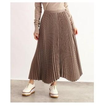 OZOC(オゾック)[洗える]チェックプリーツスカート