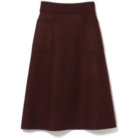 【ビームス ウィメン/BEAMS WOMEN】 Demi-Luxe BEAMS / ダブル メルトンリバー スカート
