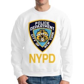 メンズ トップス スウェット Mets Noah NYPD メンズクルーネック長袖セーター、カジュアルパンツ、ジーンズ、スポーツシューズ、キャンバスシューズと一緒に着用できます、スウェット