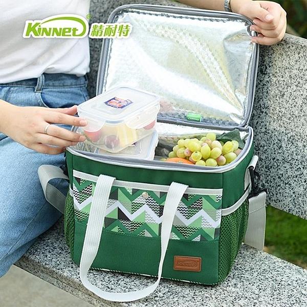 手提大號加厚保溫包車載保溫箱野餐保鮮冷藏箱保冷冰包冰袋 遇見初晴