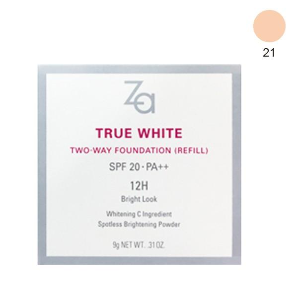 ZA美白煥顏兩用粉餅(蕊)21【康是美】