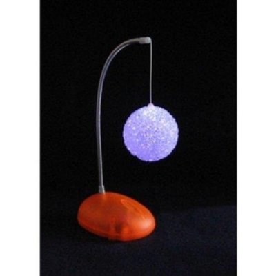【愛團購】LED雪球七彩小夜燈|發光圓球|發光雪球燈 260元