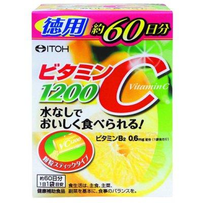 [日本代購] ITOH維他命C粉1200 經濟包 2gx60包