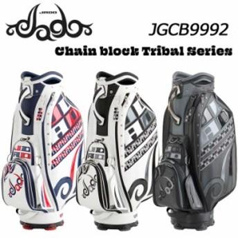 【2020モデル】ジャド JGCB9992 Chain block Tribal シリーズ キャディバッグ 9.5型 4.5kg JADO