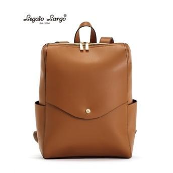Legato Largo(レガートラルゴ)軽量ボンディングフェイクレザーリュック(A4対応) リュック・バックパック・ナップサック, Bags