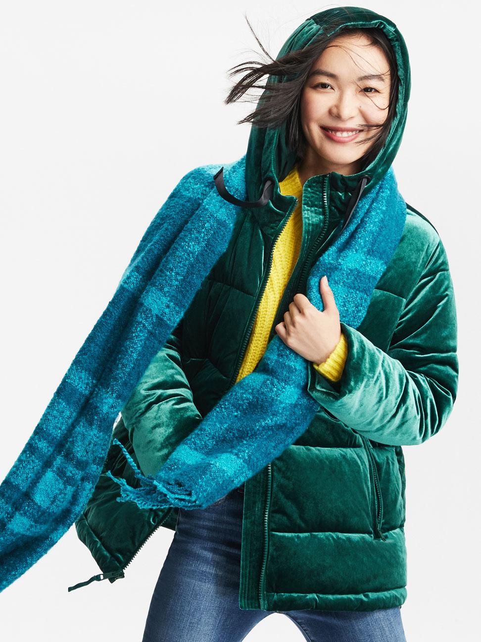 女裝 時尚冬季鋪棉外套
