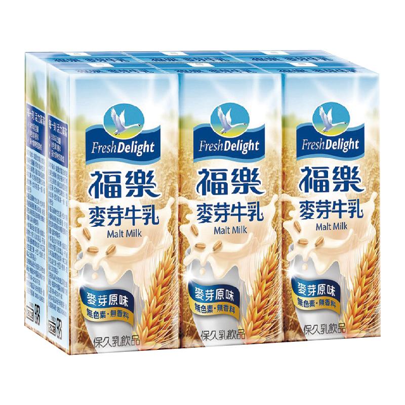 福樂麥芽保久乳-200mlx6