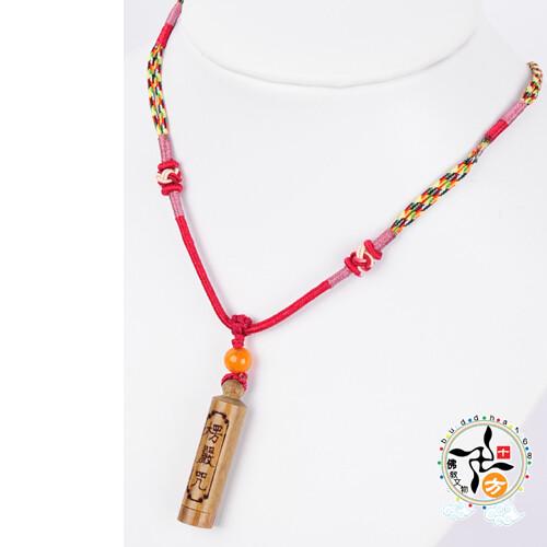 楞嚴咒五色線項鍊 十方佛教文物