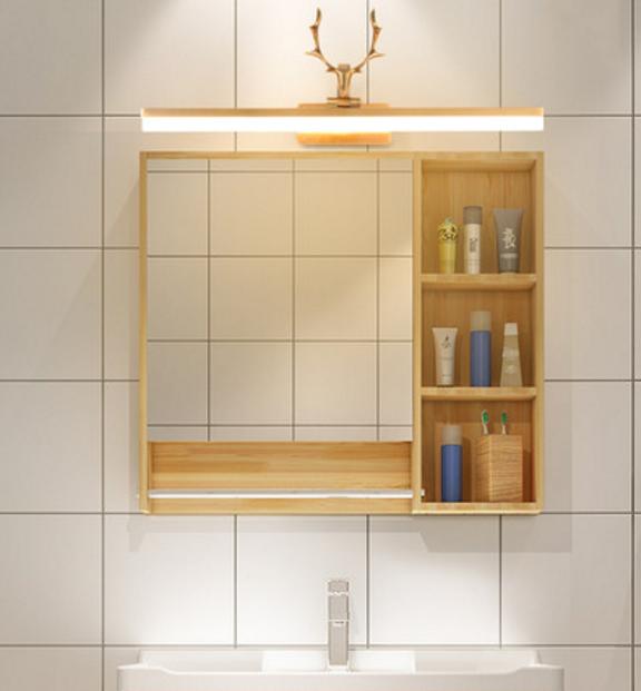 壁燈 鏡前燈 120cm led燈 美式鹿角浴室櫃鏡前燈 led衛生間免打孔歐式洗手間鏡櫃專用鏡子燈