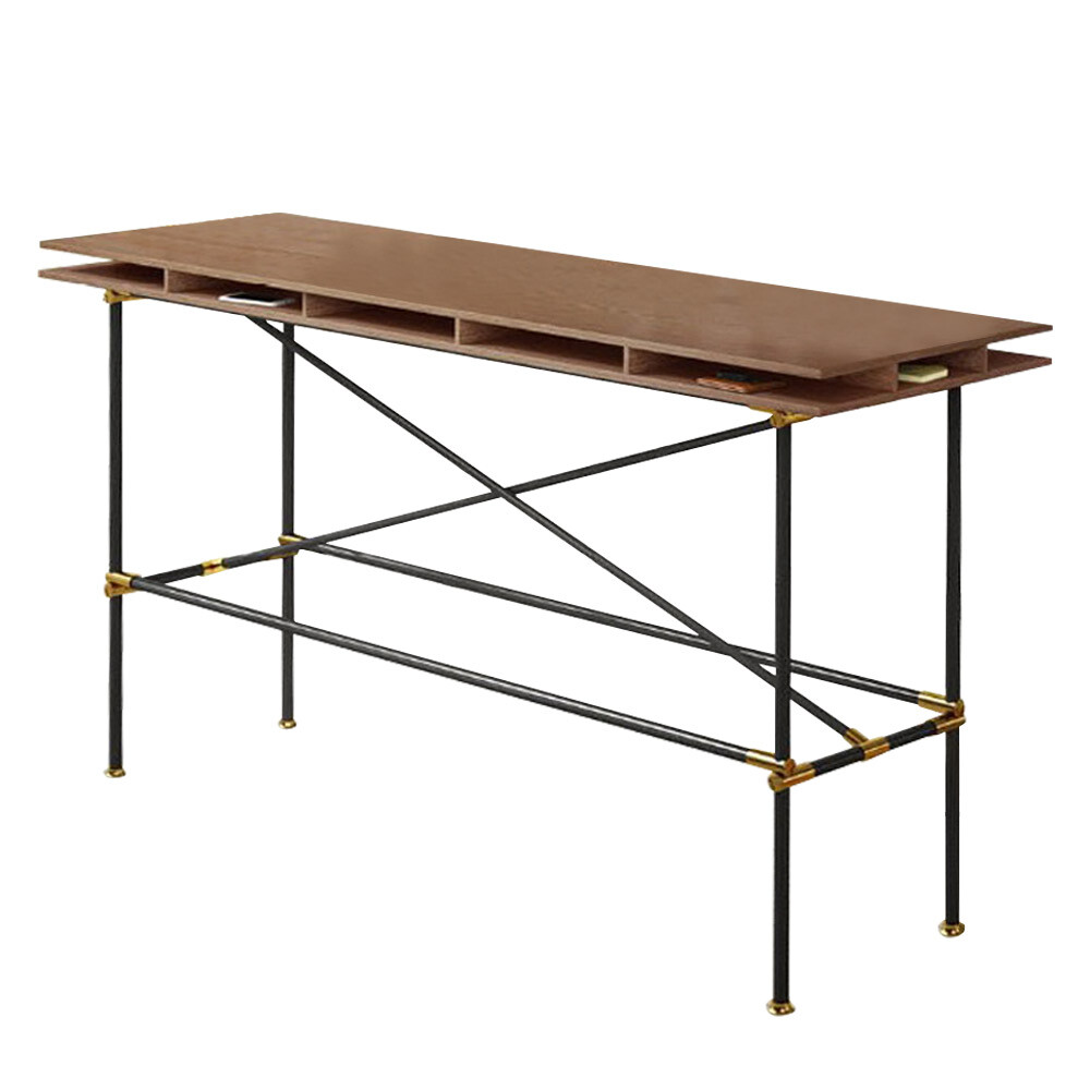 芝加哥工業風5.2尺吧台桌