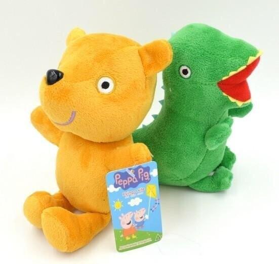 喬治恐龍與佩佩小熊19cm