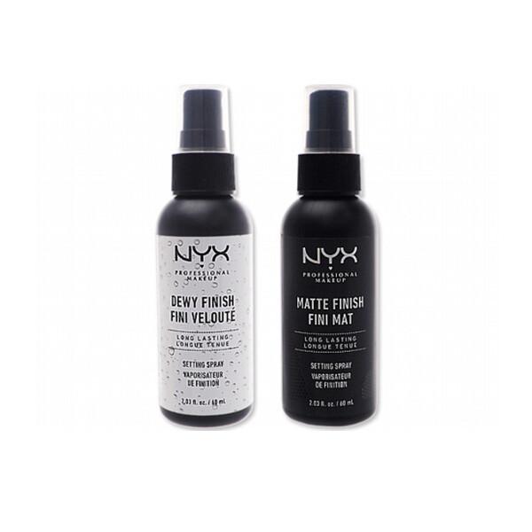 nyx~專業後台 霧感定妝噴霧光感定妝噴霧 (60ml) 兩款可選