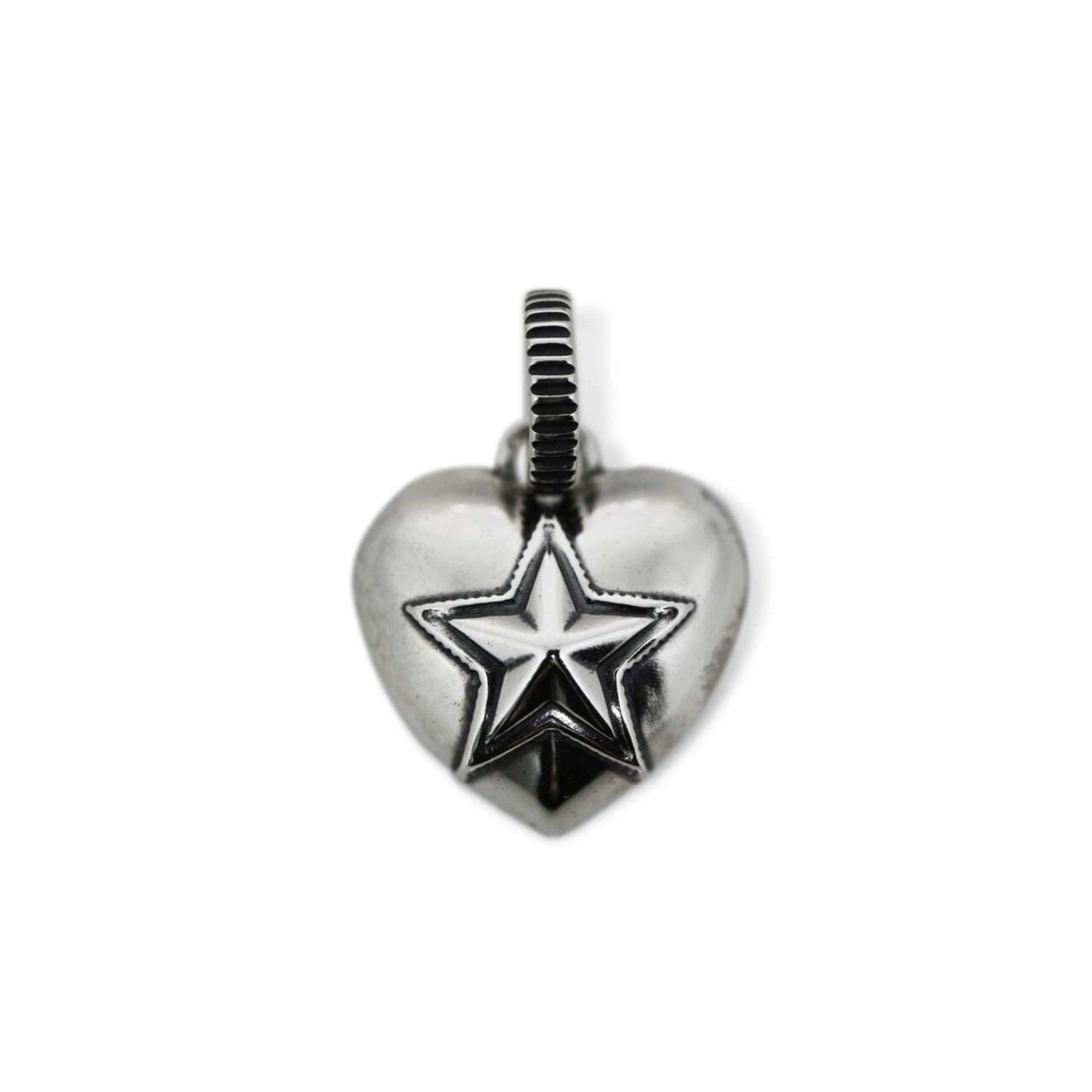 HEART AND SHERIFF STAR PENDANT  [USD $470]