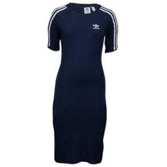 【即納】アディダス adidas Originals レディース ワンピース ワンピース・ドレス Adicolor 3-Stripe Dress Navy/White