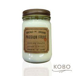 【KOBO】美國大豆精油蠟燭 - 熱情果 (360g/可燃燒60hr)