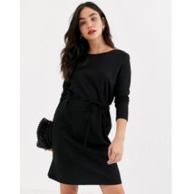 ジェイディーワイ JDY レディース ワンピース ワンピース・ドレス Lauren belted dress ブラック