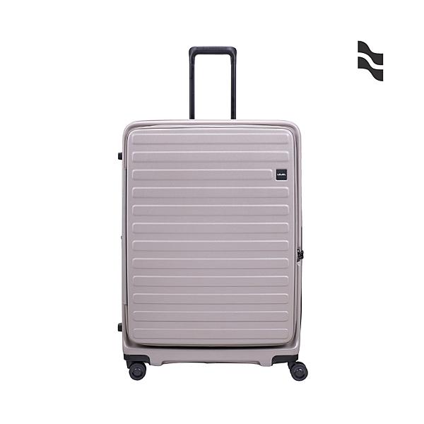 LOJEL CUBO 30吋 19分前開式擴充箱 硬殼防盜拉鍊 行李箱/旅行箱-灰色 CF1627