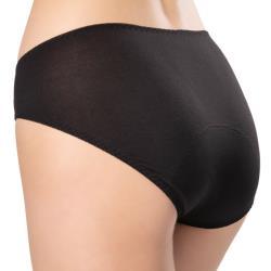 思薇爾 Cozy-modal系列M-XXL低腰日用生理褲(黑色)