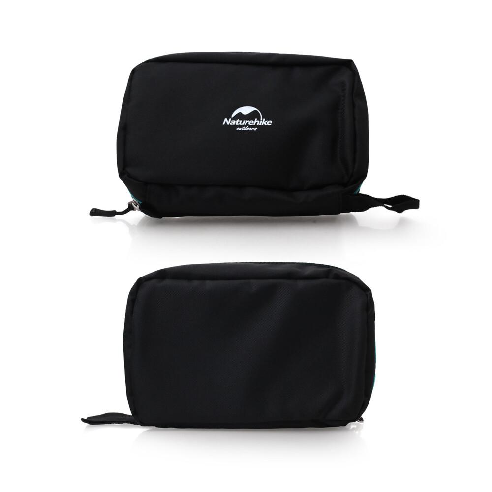 naturehike 輕便旅行盥洗包-升級版-旅行 收納包 化妝包 吊掛式 黑湖水綠