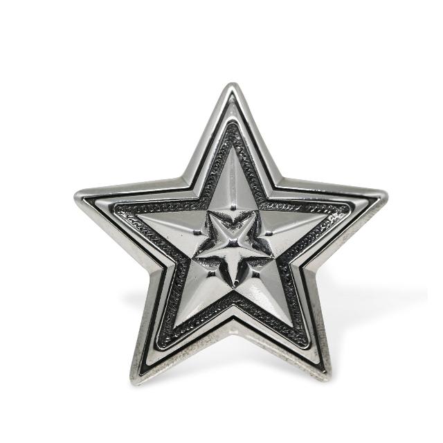 BIG STAR IN STAR PENDANT  [USD $950]