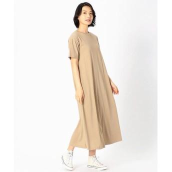 COMME CA ISM/コムサイズム 【カラバリ豊富!】Tシャツ ワンピース ベージュ S
