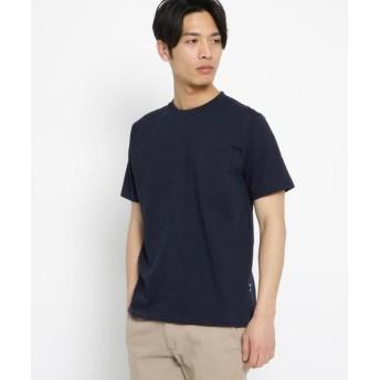 BASE STATION/ベースステーション 日本製 JAPAN MADE ハイブリッド Tシャツ ネイビー(093) 04(LL)