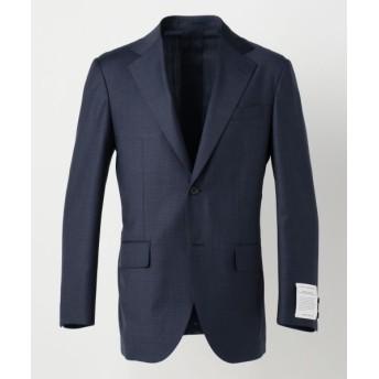 J.PRESS/ジェイプレス 【REDA ACTIVE】マイクロチェック スーツジャケット ネイビー系8 A6
