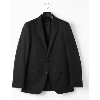 COMME CA MEN/コムサ・メン ポリエステルツイル セットアップジャケット ブラック XS