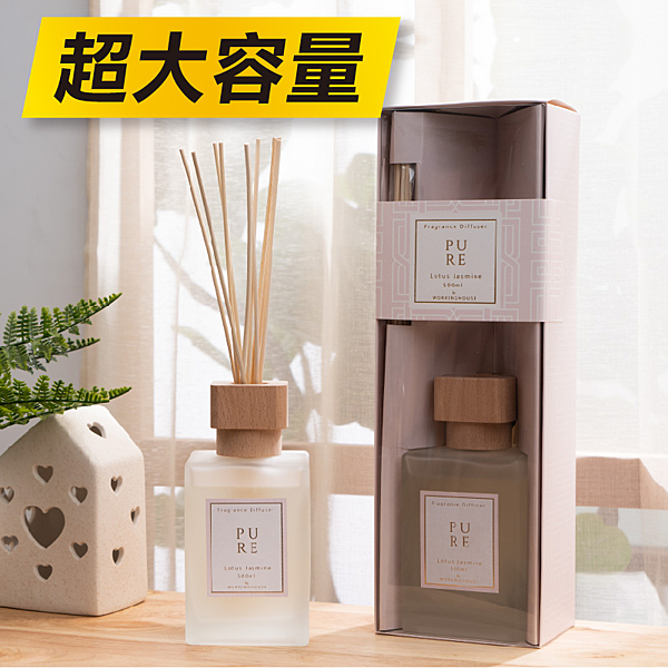 Pure純淨擴香竹500ml-生活工場