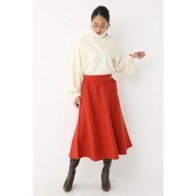 【50%OFF】 シェルターセレクト Belted Knit Flare Skirt レディース ORG FREE 【SHEL'TTER SELECT】 【セール開催中】