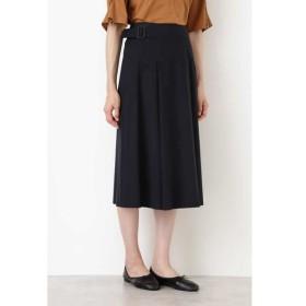 HUMAN WOMAN/ヒューマンウーマン ピーチコットンツイル・ハイクールスカート ネイビー S