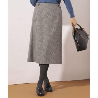 J.PRESS/ジェイプレス サキソニーチェック スカート グレー系3 7