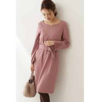 PROPORTION BODY DRESSING/プロポーションボディドレッシング ◆スリーブレースタイトワンピース ピンク 3