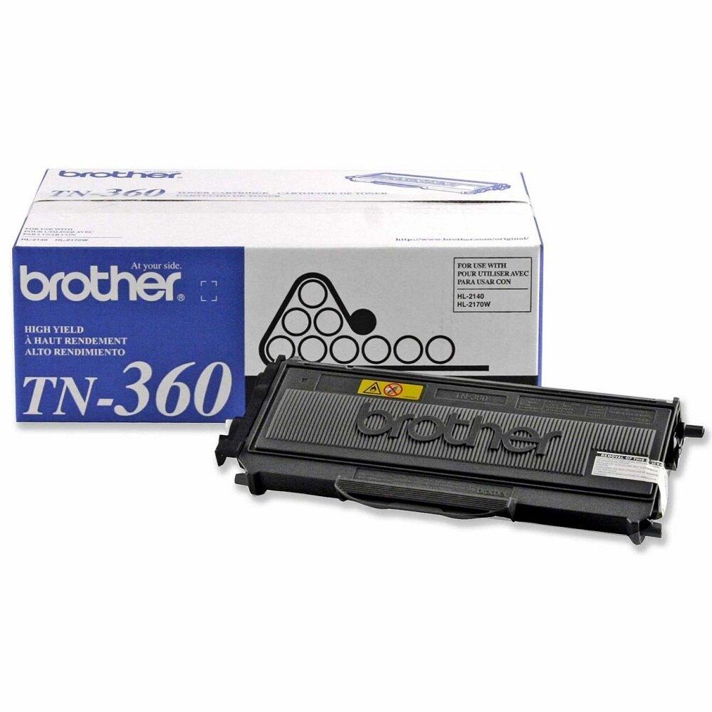 Brother TN-360 原廠高容量碳粉匣(公司貨)