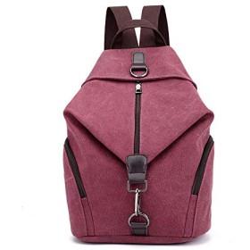 キャンバスバッグ リュック JOSEKO レディース バックパック 大容量 PCバック 軽量 ウトドア 通勤通学 旅行 男女兼用