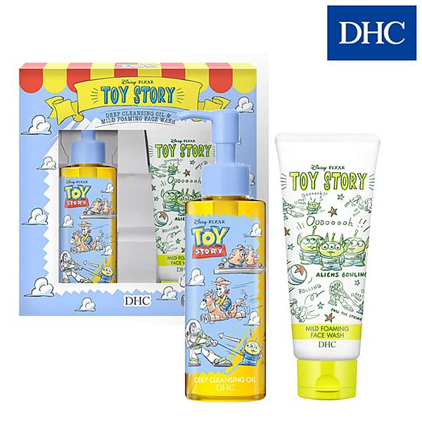 DHC 玩具總動員洗卸組(深層卸粧油 120ml+純欖滋養洗面乳100ml)【SP嚴選家】