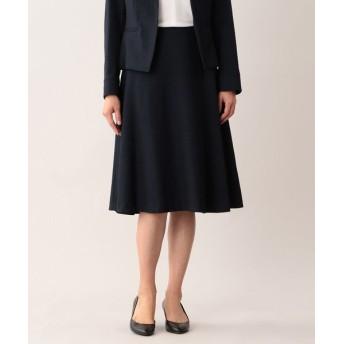 MACKINTOSH LONDON/マッキントッシュ ロンドン ラスタートリアセテートスカート ネイビー 36