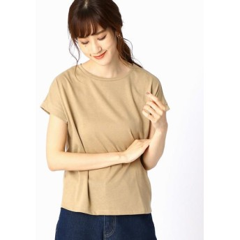 COMME CA ISM/コムサイズム 【シンプル / ベーシック】 Tシャツ ベージュ L