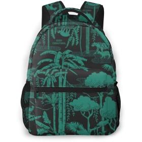 リュックサック 森林パターンの芸術 大容量 軽量 多機能 通勤 通学 男女兼用 おしゃれ バックパック