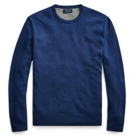 POLO RALPH LAUREN/ポロ ラルフ ローレン メリノウール クルーネックセーター 400ブルー L