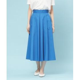 Rouge vif la cle/ルージュ・ヴィフ ラクレ ハイウエストポケット付きスカート ブルー 34